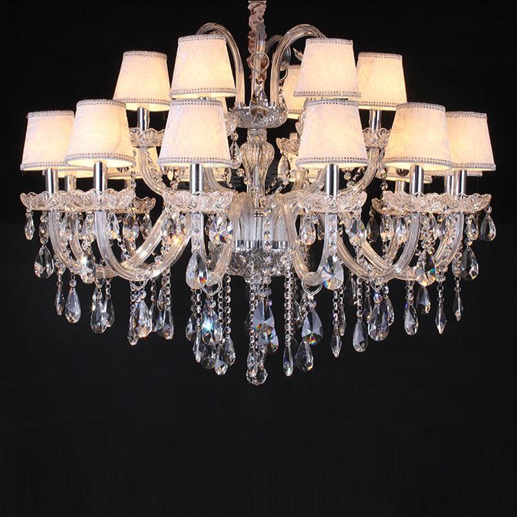 Modern luxury large hotel glass arm italian murano